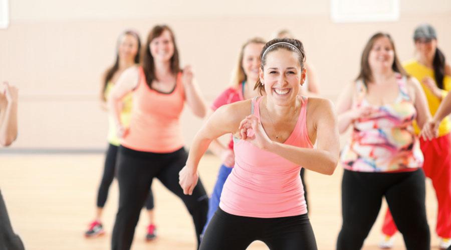 Slim Fit Studio Zumba Fitness Class Zumba Latin Ela Kanda Hendala