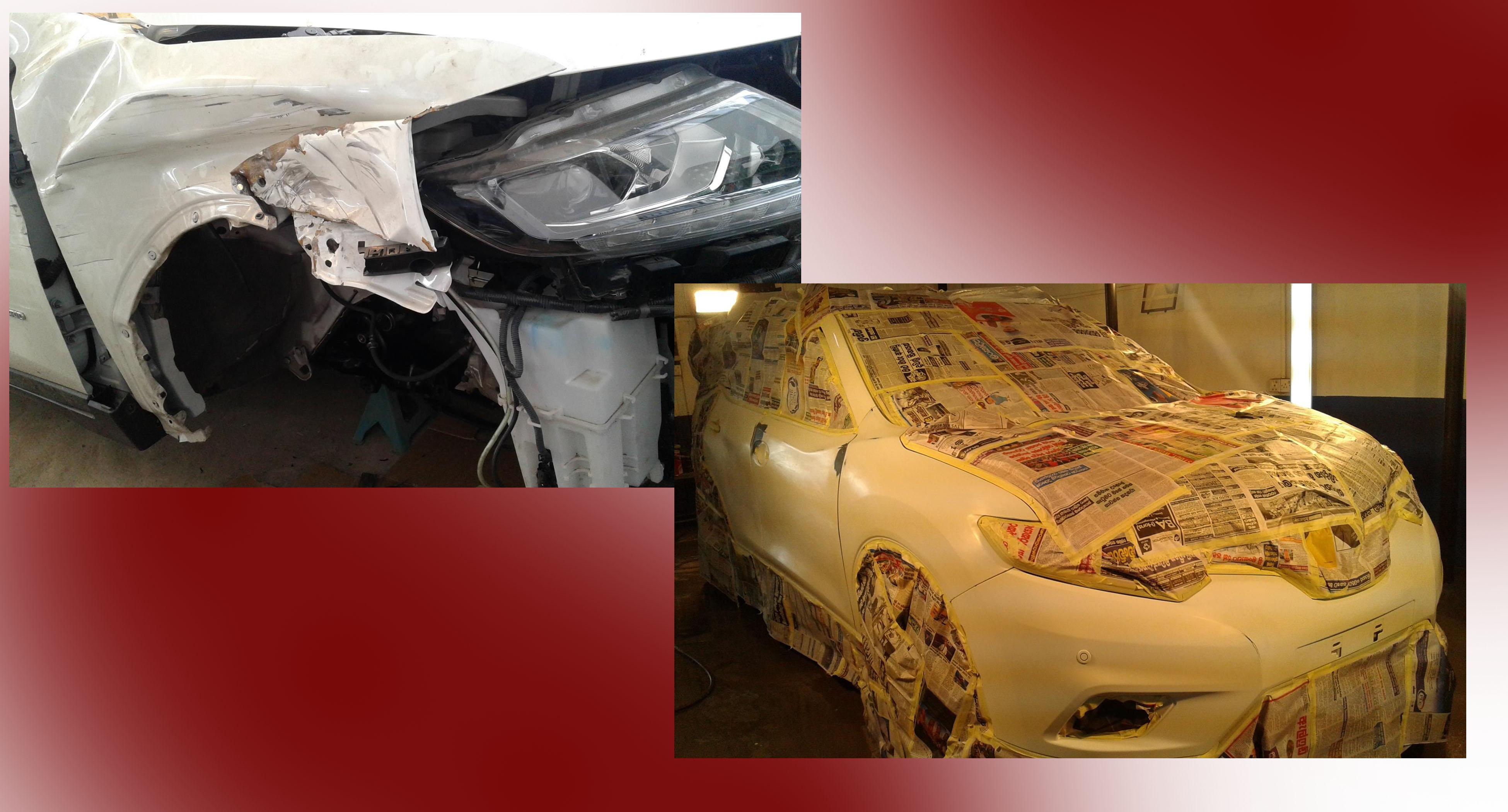 PAINT MASTER BODY WORK SHOP-car paint welisara-wattala car