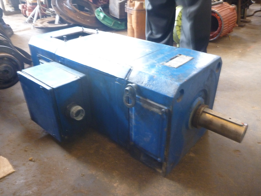 Tomson s electric works pvt ltd mattakkuliya electric for Electric motor repair company