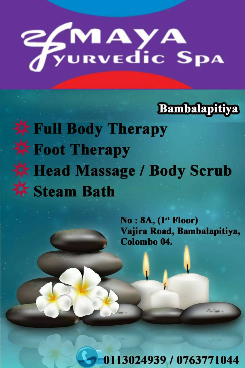 AMAYA AYURVEDIC SPA-bambalapitiya spa-body treatments in