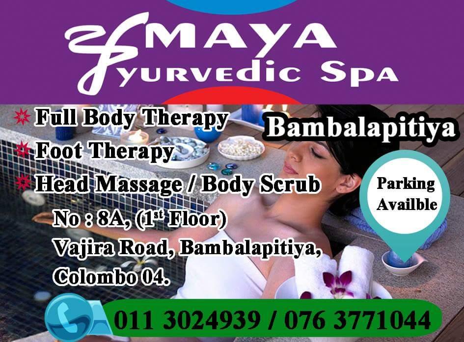 AMAYA AYURVEDIC SPA-bambalapitiya spa-body treatments in