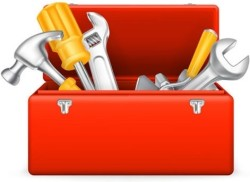 behind_cartoon_toolbox_vector_297846