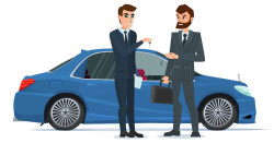 a-car-sale-handed-to-other-man-a-contemporary-vector-11681627