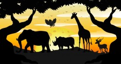 silhouette-safari-scene-dawn_1308-14257